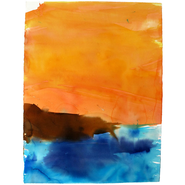 Ampliar Formentera:  (Watercolor on paper.