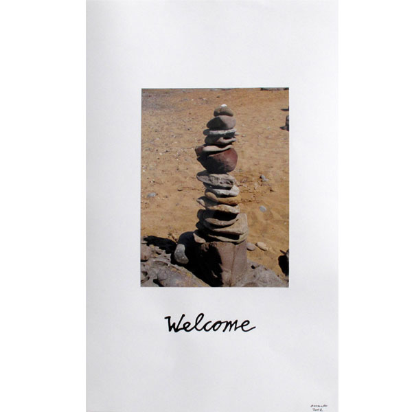 Ampliar Foto Intervenida: <b>Welcome</b><br /> (65x50. 2012)