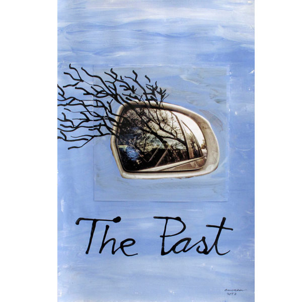 Ampliar Foto Intervenida: <b>The past</b><br /> (46x31. 2012)